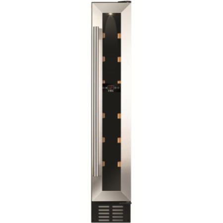 CDA FWC152SS 15cm Wide Freestanding Or Under Counter Wine Cooler - Stainless Steel
