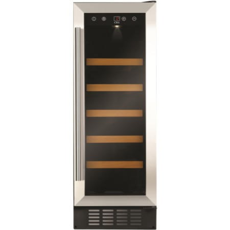 CDA FWC303SS 30 cm Freestanding Under Counter Wine Cooler - Stainless Steel