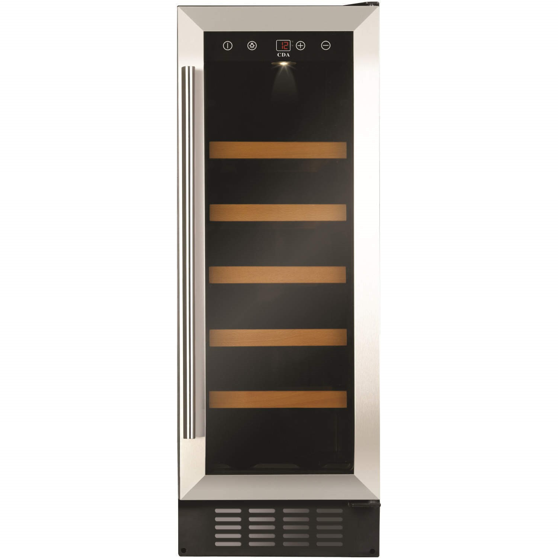 GRADE A2 - CDA FWC303SS 30 cm Freestanding Under Counter Wine Cooler - Stainless Steel  sc 1 st  Appliances Direct & GRADE A2 - CDA FWC303SS 30 cm Freestanding Under Counter Wine Cooler ...