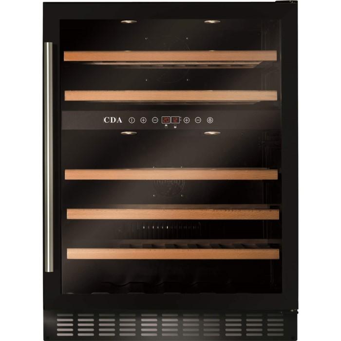 Cda Fwc603bl 60 Cm Freestanding Under Counter Wine Cooler