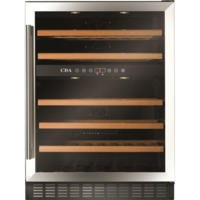 CDA FWC603SS 60cm 40 Bottle Freestanding Under Counter Wine Cooler - Stainless Steel