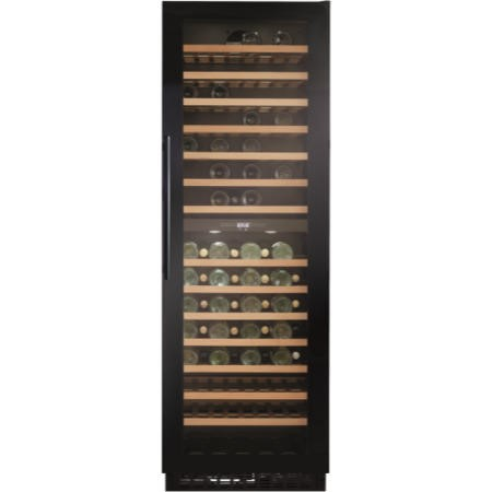 GRADE A2 - CDA FWC860BL Tall 126 Bottle Freestanding Wine Cooler Black