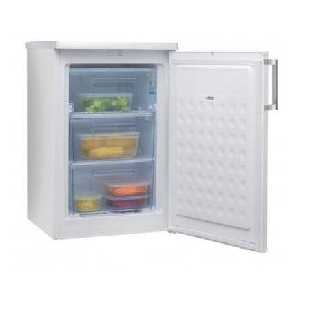 Amica FZ138.3 55cm Wide Freestanding Upright Under Counter Freezer - White