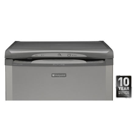 Hotpoint FZA36G 60cm Wide Frost Free Freestanding Upright Under Counter Freezer - Graphite