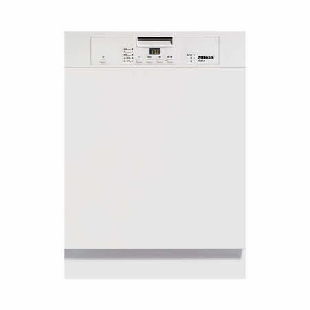 Miele Active G4203iwh 13 Place Semi Integrated Dishwasher - White Control Panel