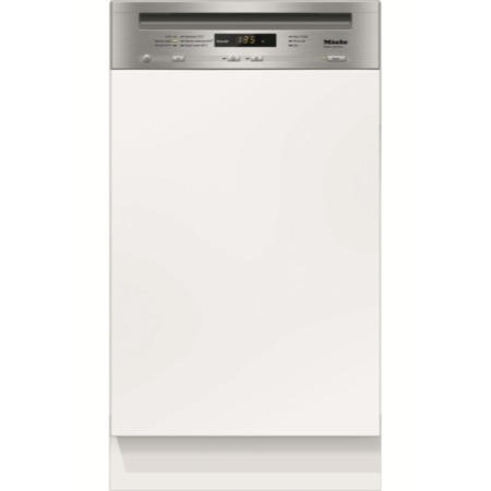 Miele G4700Sciclst G4700 Sci 45cm Wide 9 Place Slimline Semi-integrated Dishwasher - CleanSteel Control Panel