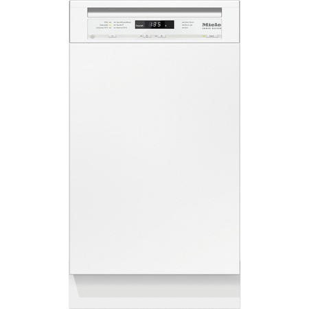 Miele G4720SCi 9 Place Slimline Semi-integrated Dishwasher - White