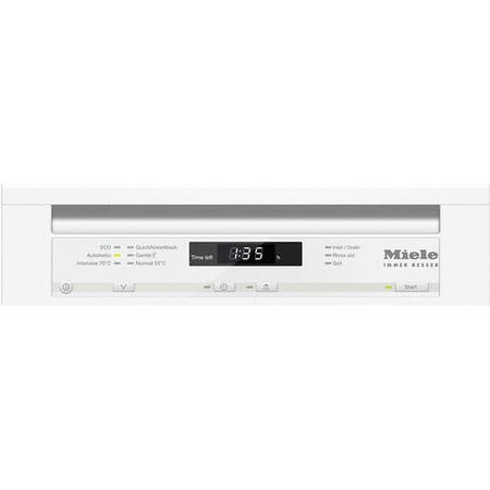 Miele G4720SCiwh 9 Place Slimline Semi-integrated Dishwasher White Panel