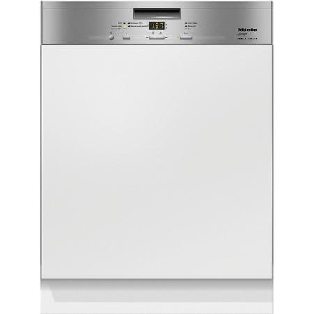 Miele G4940SCiclst 14 Place Semi-Integrated Dishwasher - CleanSteel