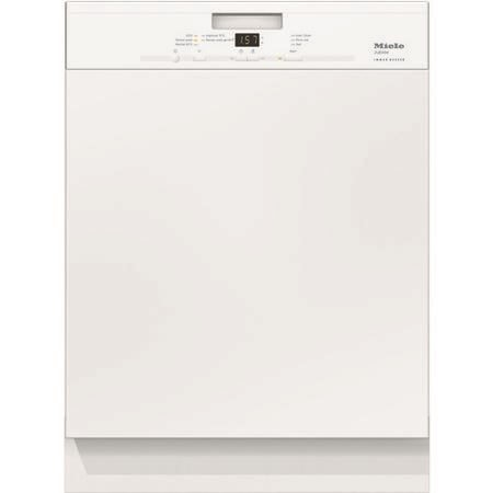 Miele G4940iwh G 4940 i Energy Efficient 13 Place Semi-integrated Dishwasher With White Control Panel