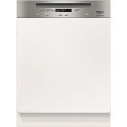 Miele G6000SCiclstJubilee 14 Place Semi-integrated Dishwasher With 3D Cutlery Tray And CleanSteel Co