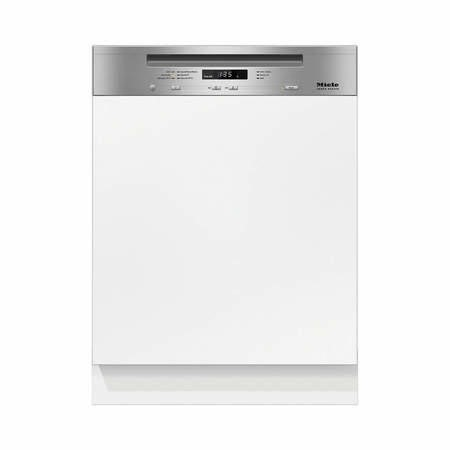 Miele G6620SCiclst 60cm 14 Place Semi-integrated Dishwasher With Cutlery Tray CleanSteel Panel