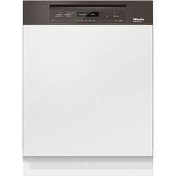 Miele G6730SCihvbr 14 Place Semi-integrated Dishwasher With Cutlery Tray Havanna Brown Panel