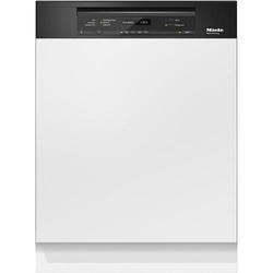 Miele G6730SCiobbl 60cm 14 Place Semi-integrated Dishwasher With Cutlery Tray Obsidian Black Panel