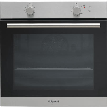 Hotpoint GA2124IX Single Gas Oven Stainless Steel