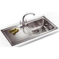 Franke GAX 611 Galassia 1.0 Bowl Stainless Steel Sink With Left Hand Drainer