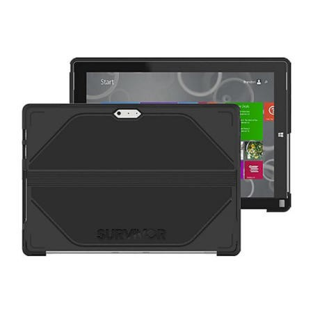 Griffin Survivor for Microsoft Surface Pro in  Black