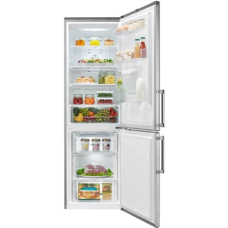 LG GBF59PZKZB Premium Extra Efficient Frost Free Freestanding Fridge Freezer With Water Dispenser - Stainless Steel