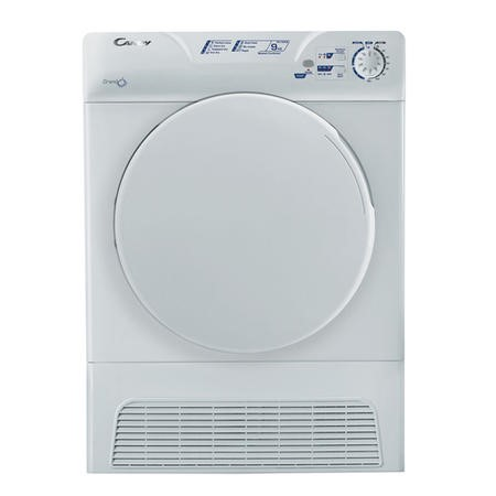 Candy GCC590NB 8kg Condenser Freestanding Tumble Dryer White