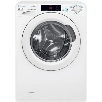 Candy GCSW485T 8kg Wash 5kg Dry Freestanding Washer Dryer - White