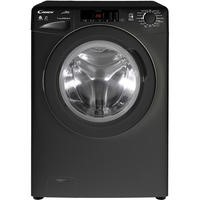 Candy GCSW496TBB 9kg Wash 6kg Dry Freestanding Washer Dryer - Black