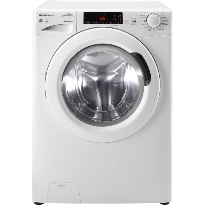 Candy Gcsw496t 9kg Wash 6kg Dry Freestanding Washer Dryer White