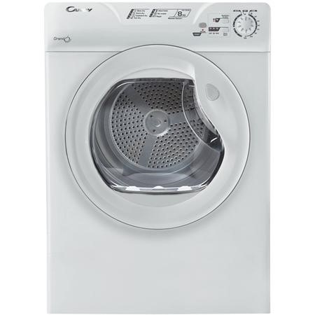 Candy GCV581NC 8kg Vented Freestanding Tumble Dryer White