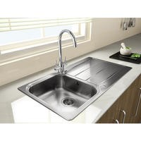 Rangemaster Glendale 950x508 1.0 Bowl Reversible Stainless Steel Sink