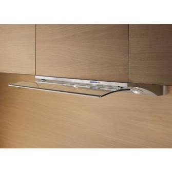 Elica GLIDE90 Decorative 90cm Built-in Cooker Hood With Telescopic Glass Panel
