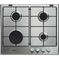 Whirlpool GMA6411IX Absolute Four Burner Gas Hob - Stainless Steel