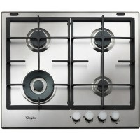 Whirlpool GMA6422IX Absolute Four Burner Gas Hob - Stainless Steel