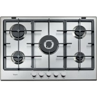 Whirlpool GMA7522IX Absolute Five Burner Gas Hob - Stainless Steel
