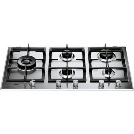 Whirlpool GMF9522IXL Fusion 86cm Four Burner Gas Hob - Stainless Steel