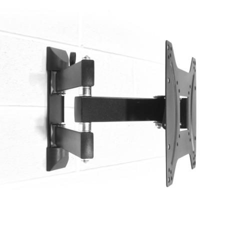 "electriQ Multi-Action Articulating TV Wall Bracket for TVs up to 43"" with VESA up to 200 x 200mm and 25kg Load"