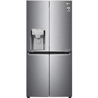 LG GML844PZKV Four Door American Style Fridge Freezer With Plumbed Ice & Water - Stainless Steel Best Price, Cheapest Prices