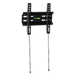 Flat to Wall TV Bracket - for TVs up to 32 inch 30KG Load Heavy Duty - Built-in Spirit Level