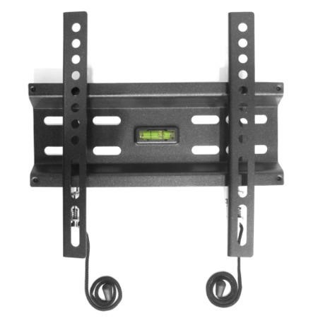 "Super Slim Flat to Wall TV Bracket with Spirit Level for up to 32"" TVs - Universal VESA up to 200 x 200mm and 30KG Load"