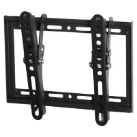 electriQ Super Slim Tilting TV Wall Bracket for TVs up to 40