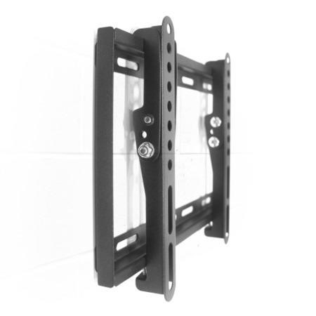 "electriQ Super Slim Tilting TV Wall Bracket for TVs up to 55"" with VESA up to 200 x 200mm and 30kg Load"