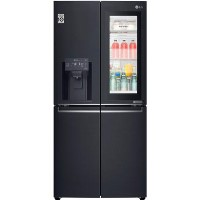 LG GMX844MCKV InstaView Door-in-door Multi-door American Fridge Freezer With Ice & Water Dispenser - Best Price, Cheapest Prices