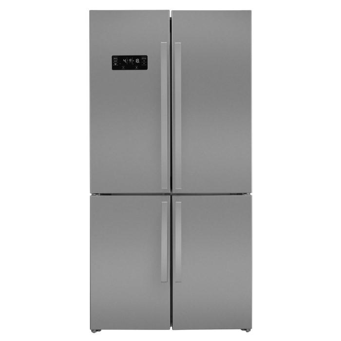 Beko GN1416221ZX Four Door American-style Fridge Freezer - Stainless ...