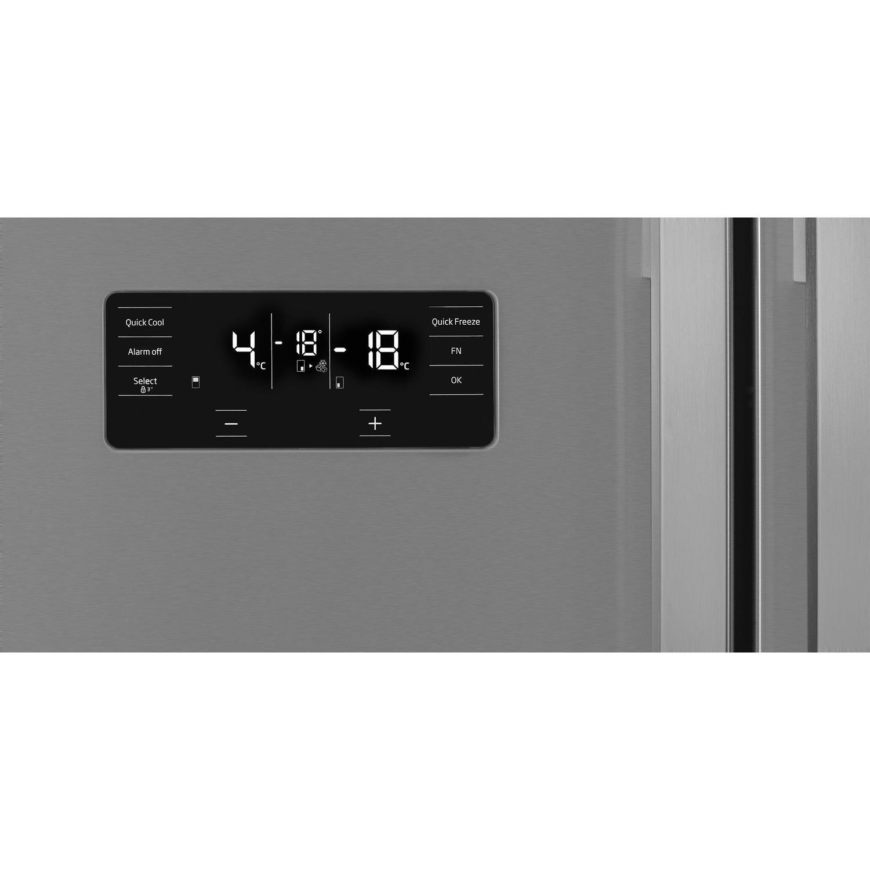Beko GN1416221ZX Frost Free Four Door American-style Fridge Freezer -  Stainless Steel