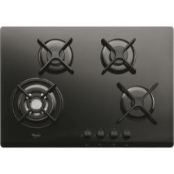 Whirlpool GOR7424NB Gas-on-glass Hob - Black