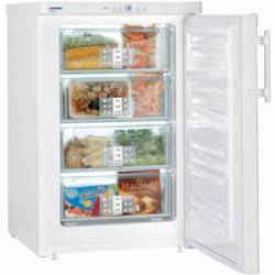 Liebherr GP1376 SmartFrost Table Height Freestanding Freezer - White