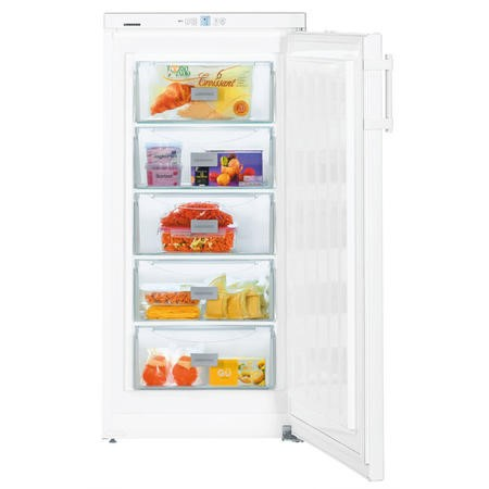 Liebherr GP2033 60cm Wide Freestanding Upright Freezer - White