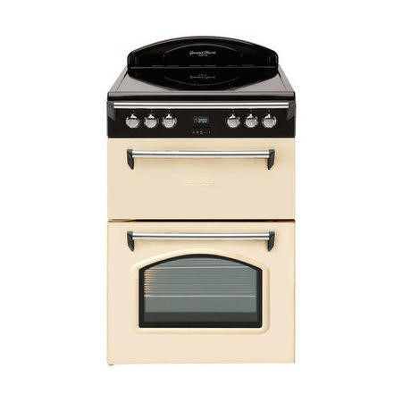 Leisure GRB6CVC Heritage Double Oven 60cm Electric Cooker Cream