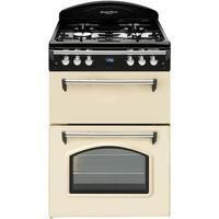 Leisure GRB6GVC Heritage Double Oven 60cm Gas Cooker - Cream