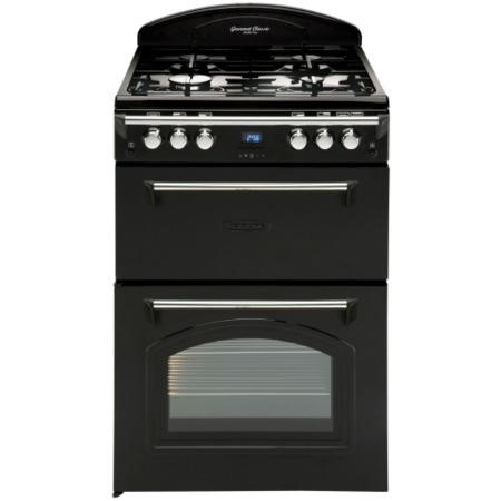 Leisure GRB6GVK Heritage Double Oven 60cm Gas Cooker - Black