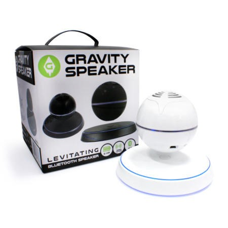 iQ Gravity Speaker - Levitating Bluetooth Speaker - White