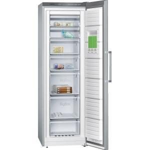 GRADE A1 - Siemens GS36NVI30G 60cm Wide Frost Free Freestanding Upright Freezer - Silver